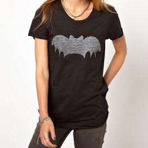 Zoe Karssen Batman Logo Graphic Tee